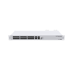MikroTik Cloud Router Switch 326-24S+2Q+RM (2X 40Gb QSFP+ ports, 24x 10Gb SFP+ ports)