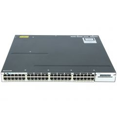Cisco Catalyst 3750X  Layer 3 Gigabit Switch - 48 port PoE+ WS-C3750X-48P-S